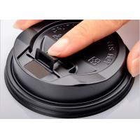 China Customized Party Paper Cups Lids , Plastic Coffee Lids For Tea / Beveage wholesale