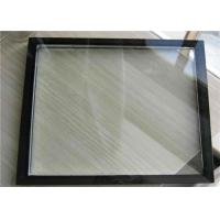 China Low E Triple Glazed Insulated Glass , Double Glazed Glass Panels For Airports on sale