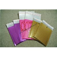 Moisture Proof  Gold Metallic Bubble Mailers 295x435mm for sale