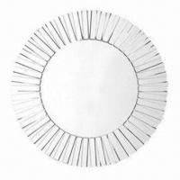 China Decorative Mirror with 32-inch Diameter and Backing MDF, Suitable for Wall wholesale