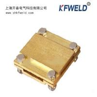 China Ground Cable to Cable Cross Square Clamp, Copper material, Goodelectricconduction wholesale