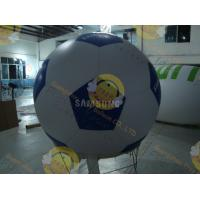 China Inflatable Advertising Sport Balloons Large Football Shape for Outdoor Events wholesale