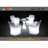 China Remote control Color Outdoor Furniture Glowing led coffee table for lounge wholesale