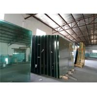 China Low Iron Ultra Clear Float Glass For Buildings Decorative , 1.8mm-19mm Thick wholesale
