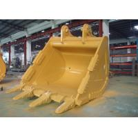 China Reinforced 5.2 CBM Excavator Swivel Bucket Wearable Steel For CAT385 Excavator wholesale