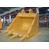 Buy cheap Reinforced 5.2 CBM Excavator Swivel Bucket Wearable Steel For CAT385 Excavator from wholesalers