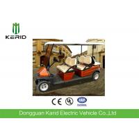 China 6 Person Electric Car Golf Cart , Battery Operated Golf Buggy High Performance wholesale