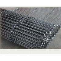 China Wire Mesh Conveyor Belt Ladder Flat Flex  pvc coated wire material on sale