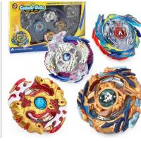China High Quality Metal Fusion Beyblades Burst Set Gyro with Handgrip Launcher Top Box Bayblade Toys Spinning Top For Kid wholesale