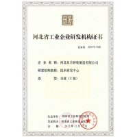 Hebei Double Goats Grinding Wheel Manufacturing Co., Ltd Certifications