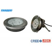 China IP68 54w Dmx RGB Led Pool Lights For Pond / Fountain / Swimming Pool wholesale