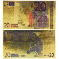 China 20 Euro Gold Banknotes for Collection and Decoration wholesale