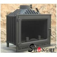 China 12kw insert wood burner cast iron fireplace wholesale