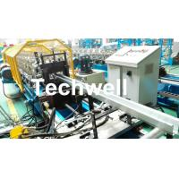 China Metal Sheet Hat Channel Roll Forming Machine / Furring Channel Profile With 0-15m/min Forming Speed wholesale