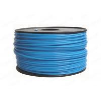 China 3mm PLA 3D Printer Filament Blue Color For Makerbot / UP / 3D Printer wholesale