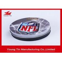 Buy cheap 95 x 30 MM Printed Tin Boxes CMYK Offset Printing Outside , YT1014 Round Metal from wholesalers