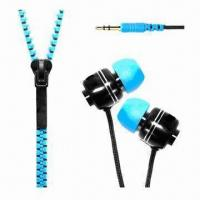 China Promotional Zipper/Cell Phone Earphone wholesale