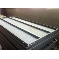 Light duty industrial warehouse slotted angle rack