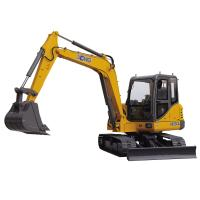 China Crawler Mounted Excavator , Mini Digger Excavator With 0.3m3 Excavator Bucket wholesale