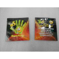 China California Dream Herbal Incense Packaging Flat Zipper Pouches Chemical Pill THC Sachet wholesale