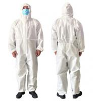 China Airy Disposable Protective Clothing For Clean Room / Pharmaceutical Industry wholesale