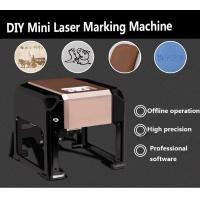 China Mini 3W DIY Laser Engraver, Portable desktop model laser engraver for wood paper acrylic leather wholesale