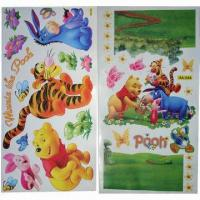 China Wall Stickers/Decals, Customized Sizes/Designs, OEM/ODM Orders are Welcome, Eco-friendly wholesale