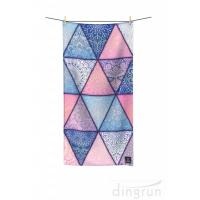 China Quick Drying Lightweight Fast Dry Printed Microfiber Beach Towel For Travel on sale