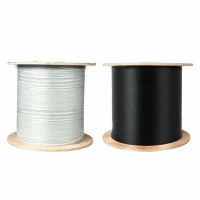 China Terminal System FRP G657 FTTH Outdoor Steel Messenger Wire wholesale