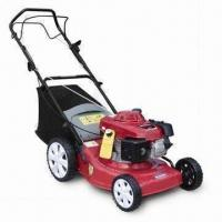 China Gasoline Lawn Mower with 16-/18-/20-inch Width, Real Discharge and Hand Push wholesale