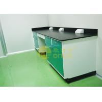 China 1000 * 750mm Chemical Resistant Table Tops With Chemical / Heat Resistant wholesale
