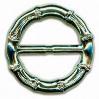 China Belt Buckle, Made of Zinc Alloy, Comes in Bamboo Design, with 50mm Inner Size wholesale