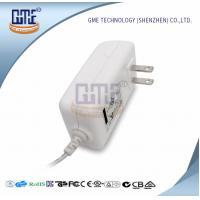 China White 2PIN AC DC Power Adapter , Wall Mount Power Adapter For Home Appliances wholesale