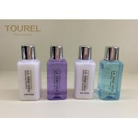 Quality Disposable Hotel Bath Amenities Set / Tinted Finishing Hotel Guest Toiletries for sale