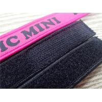 Buy cheap Customized Fashion Polyester Velcro Webbing Woven Tape For Garment Or Bag Label from wholesalers