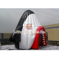 China Durable Airtight Tent , Colorful Inflatable Party Tent With Shark Mouth wholesale