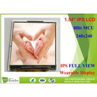 """Buy cheap Wearable LCD Display 1.54"""" 240 * 240 IPS Small LCD Screen With 8Bit MCU from wholesalers"""