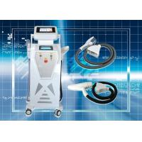 China Double screens SHR hair removal machine YAG laser machine , skin rejuvenation machine on sale