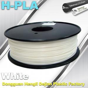 China Temperature Resistance 3D Printer Filament PLA Filament 1.75mm 1.3kg / Roll wholesale