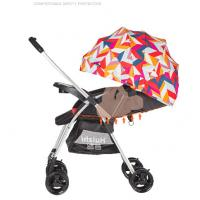 China Two Way Push Baby Carriage Stroller Easy To Carry And Pack Aluminum Frame wholesale