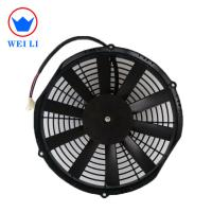 Mini Powerful AC Fan Motor, 11 Inch Refrigerated 24 Volt DC Hvac Fan Motor