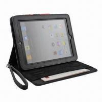 China Stand Case for New iPad, Available in Various Colors, Customized Designs are Welcome, 100pcs MOQ wholesale
