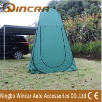 China Green / Blue Outdoor toilet shower dressing Tent and Awning of Nylon wholesale
