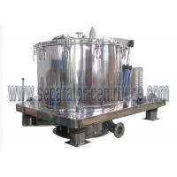 China Peony High quality Stainless steel GMP standard Scraper Basket Centrifuge With Siemens PLC Programming wholesale