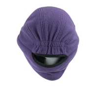 China Special warm terry purple neck protective elastic buckle blank outdoor fisherman bucket hats caps wholesale