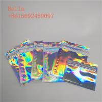 Three Side Seal Foil Pouch Packaging , Small Cosmetic Stand Up Bags With Zipper