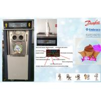 China Mix-low Function Automatic Ice Cream Machine , Self Closing Handles wholesale