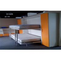 Wood Space Saving Hidden Single Murphy Wall Bed Bunk Bed