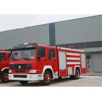 China 4X2 LHD Fire Fighting Truck SINOTRUK HOWO 10CBM 290HP for Sprinkling on sale
