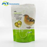 China Gravure Printing Pet Food Packaging Bags For Birds Accept Customized Logo wholesale